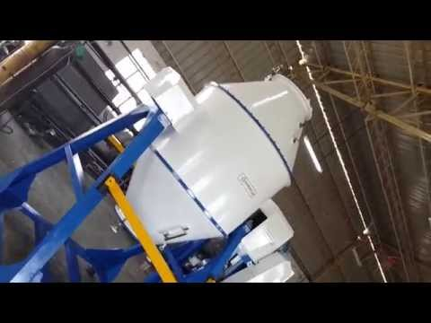 Dry Mixer - Rotating Double Cone
