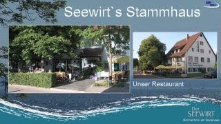 preview picture of video 'Restaurant vom Seewirt in Nonnenhorn am Bodensee'