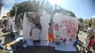 Exhibición de graffiti NBQ para Tarracosbull