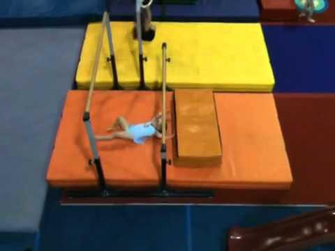 Toddler Gymnastics Oops - YouTube