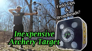 Amazon Archery Target Review - Black Hole 4 Sided Archery Target