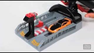 Mega Bloks - Need for Speed - Porsche 911 Turbo Wheel Launcher - 95716
