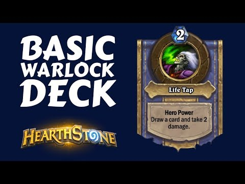 BASIC WARLOCK DECK GUIDE | DRAW SOME CARDS, WIN THE GAME | Hearthstone