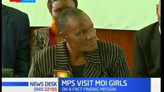 Members of Parliament visit Moi Girls School after defilement incident