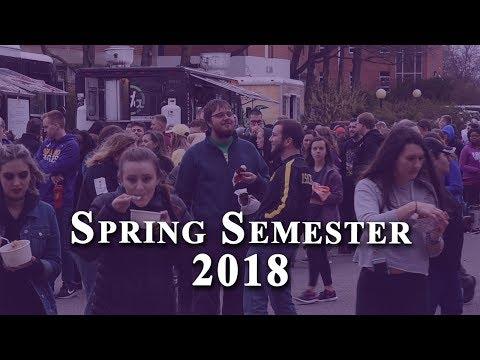 Ashland University Spring Semester 2018