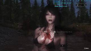 Сборка [Skyrim: Dark Souls Edition] - тестирую другой мод на камеру