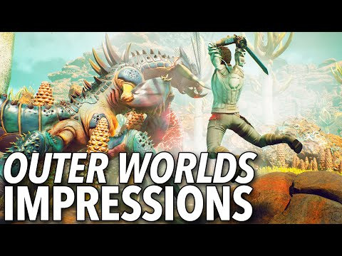 The Outer Worlds E3 Demo Featured Flexible Combat And Strategic Lying
