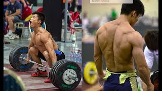 The Chinese Olympic Weightlifting Technique