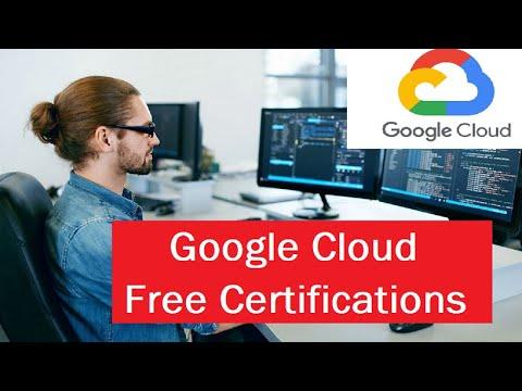 Google Cloud Free Certification - YouTube