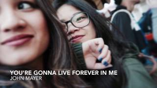 'You're Gonna Live Forever In Me' - John Mayer (Lyrics)