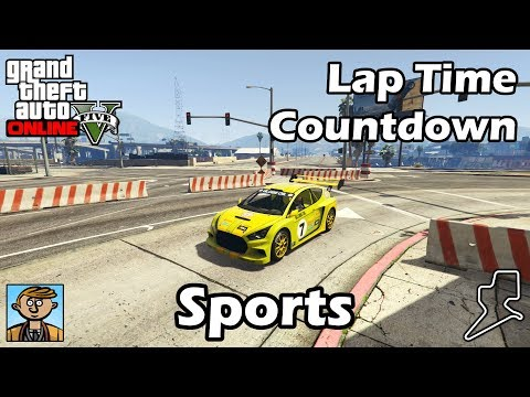 Fastest Sports Cars (2018) - GTA 5 Best Fully Upgraded Cars Lap Time Countdown