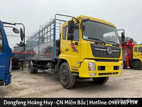 Báo giá xe tải  9 tấn DONGFENG B180 thùng dài 7.5M