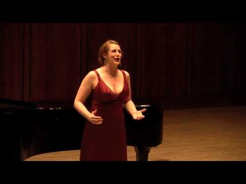 """Depuis le jour"" from Charpentier's Louise. Sung in competition in Austin, TX, 2012."