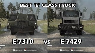 Spintires Mudrunner Clash of Titans E 7310 vs E 7429