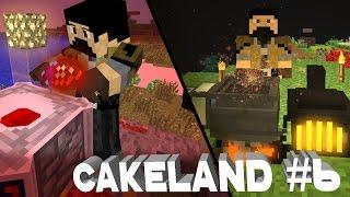 CakeLand FTB #6: Ведьмак, Ботаник и Кровавый Маг!