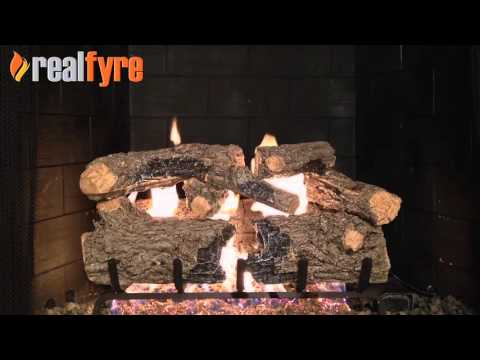 Peterson Real Fyre Burnt Rustic Oak Gas Logs
