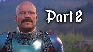 Kingdom Come Deliverance Gameplay Walkthrough Part 2 - QUEST RUN & LOCKPICKING (Full Game)