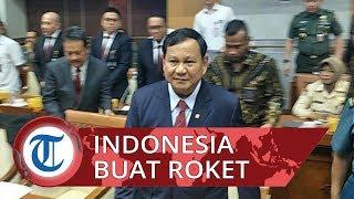 Rapat Perdana dengan Komisi I DPR, Menhan Prabowo Optimis Indonesia Mampu Buat Roket Sendiri