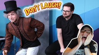 SMOSH PIT'S TRY NOT TO LAUGH CHALLENGE #25 REACTION