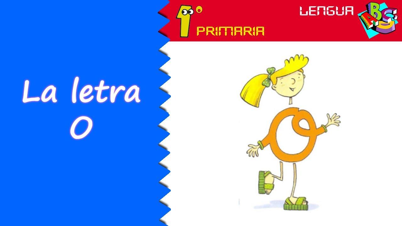 Lengua Castellana. 1º Primaria. Tema 0: Letra o