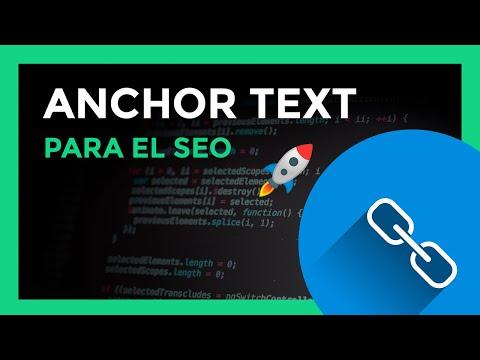 Que es anchor text, usalo para el SEO  - YouTube