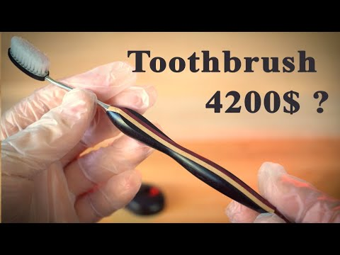 Making a Toothbrush From Scratch, Right Down To The Bristles
