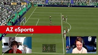 91 TOTS Koopmeiners | AZ eSports | Jens van der Flier en Dani Visser