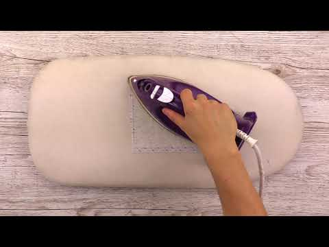 How to Use the Iron-On Adhesive - Sizzix