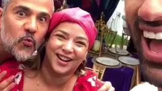 Fiesta de cumpleaños Adamari, sorpresas, baile, karaoke y mas, SnapChat Toni Costa, Alaïa