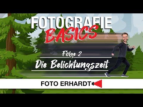Fotografie Basics - Folge 2: Die Belichtungszeit