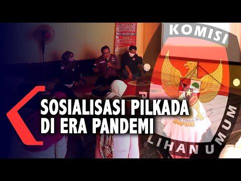 kpu kabupaten mojokerto gelar sosialisasi pilkada di era pandemi