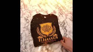 Bitcoin Tshirt Damen