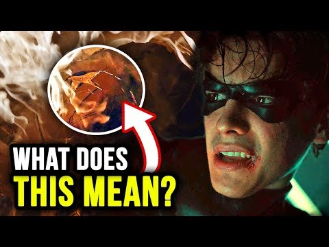 Nightwing BEGINS! Great BATMOBILE Shots! - Titans Episode 7 Review 'Asylum'