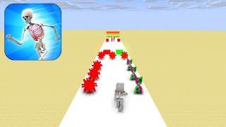 Monster School: DNA RUN 3D CHALLENGE - Minecraft Animation