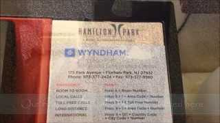 preview picture of video 'Wyndham Hamilton Park Hotel and Conference Center Hotel Room Video Tour'