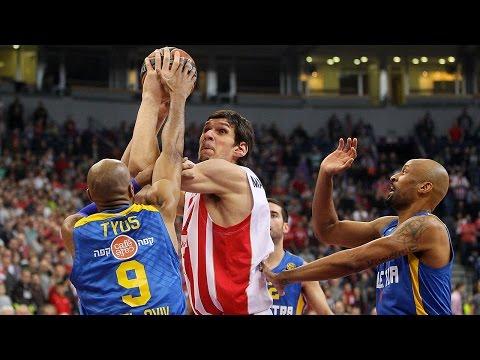 Highlights: Crvena Zvezda Telekom Belgrade-Maccabi Electra Tel Aviv