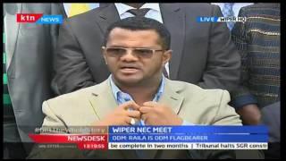 Wiper NEC meeting after CORD leader Raila declares interest in presidency, News Desk 20/09/16