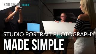 A Simple 2 Light Portrait Set Up Photography Tutorial With Karl Taylor
