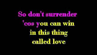 That's The Way It Is   Celine Dion karaoke video flv
