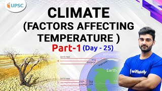 10:00 AM - UPSC CSE 2020 | Indian Geography by Sumit Sir | Climate (Factors Affecting Temp.)