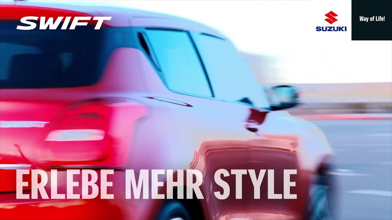 Suzuki Swift: mehr Spaß, mehr Style, mehr Abwechslung – Swift Up Your Life!