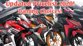 HONDA MOTORCYCLE PRICELIST 2020 PHILIPPINES