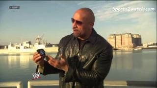 WWE The Rock History lesson #1 (Boston Tea Party)