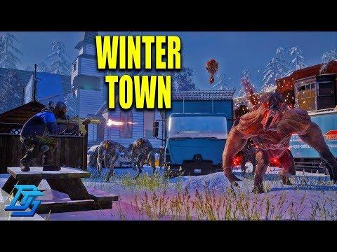 WINTER TOWN DEFENSE w/ Boomer,Royal, Sl1pg8r- Earthfall - Pt.5 (COOP)