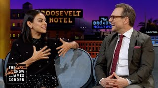 Mila Kunis & Christian Slater Are Addicted to Dating Shows