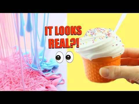 CRAZY SLIME TRENDS TESTED + RECIPES!! 🍰😵