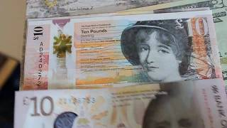 Star Notes ZZ Replacement money from Scotland