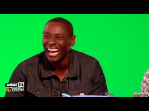 Dokáže David Harewood balancovat bankovku na nosu? - Would I Lie to You?