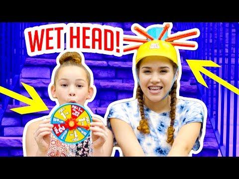 Wet Head! (Gracie vs Olivia)