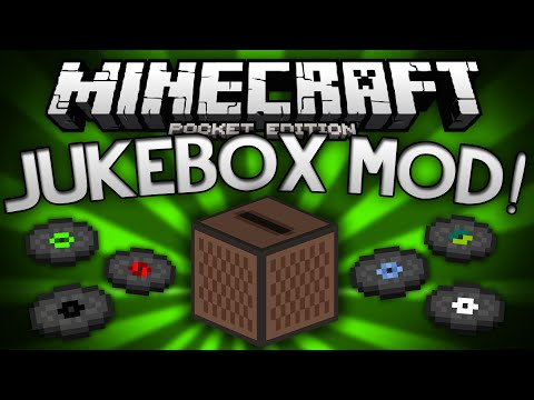 JUKEBOX MOD for MCPE!!! - Adds Jukeboxes, Music, and More! - Minecraft Pocket Edition